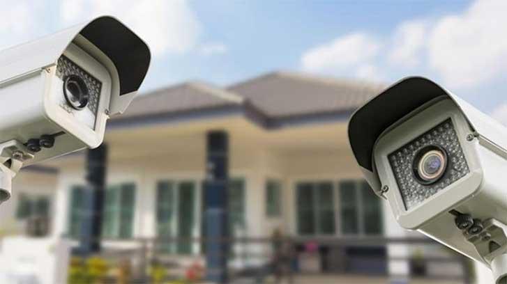 Projeto de câmeras de segurança: o que não pode faltar. Imagem de câmera de segurança